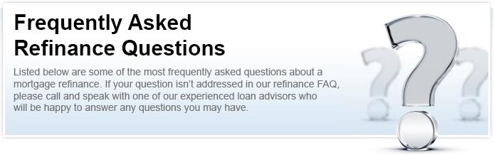 Refinance Questions Shoreline Mortgage